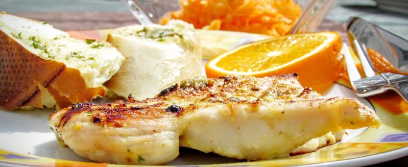 Barbecue-Joghurt-Orangen-Marinade