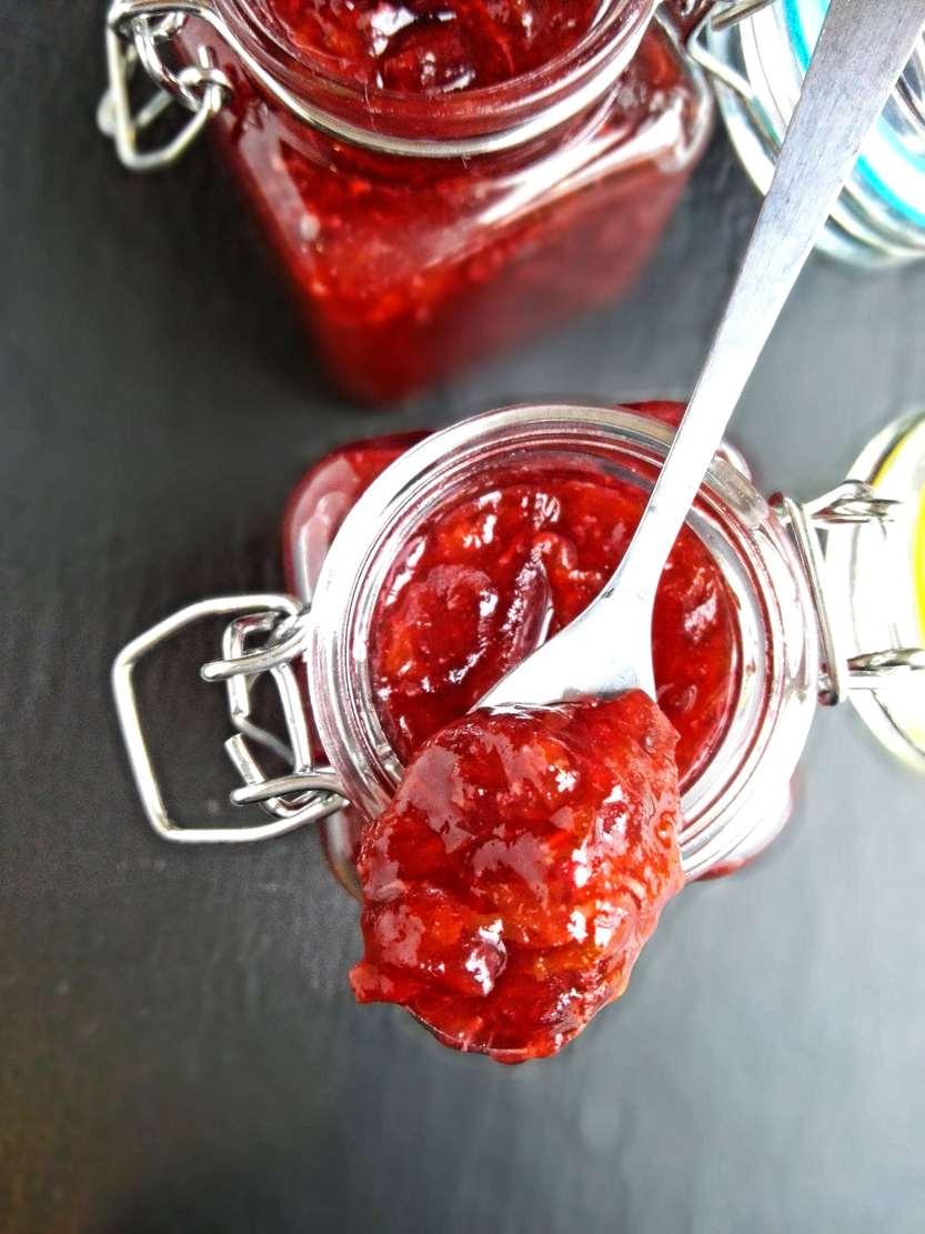 Cranberry Chutney mit Clementinen - so vortrefflich!
