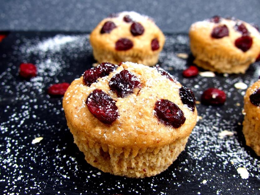 Gelingsichere Frühstücksmuffins mit Cranberries