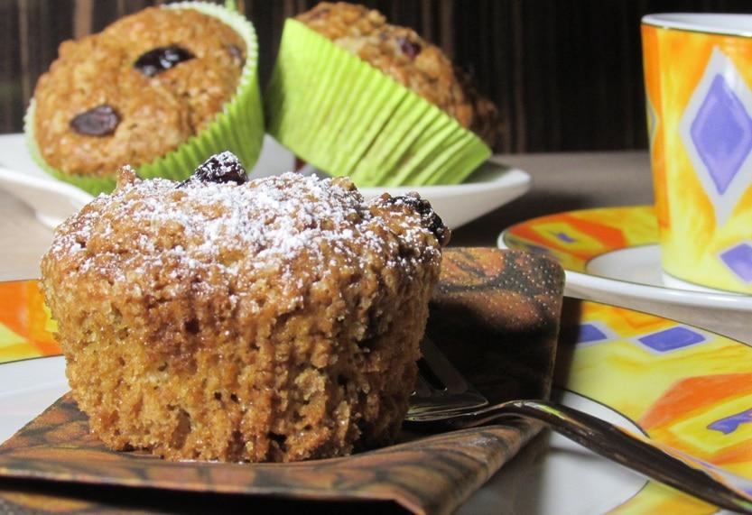 Goji Berry-Cranberry-Muffins