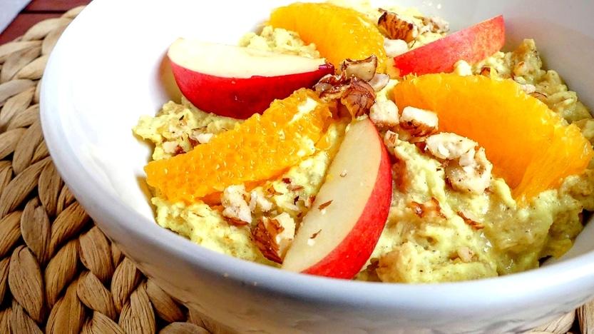 Goldener Herbst Porridge