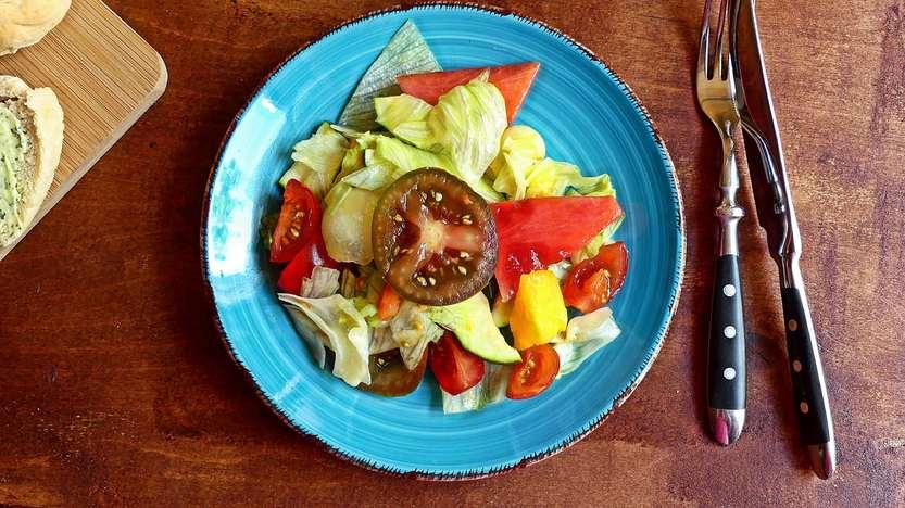Herrlich erfrischender Sommersalat mit Melonen