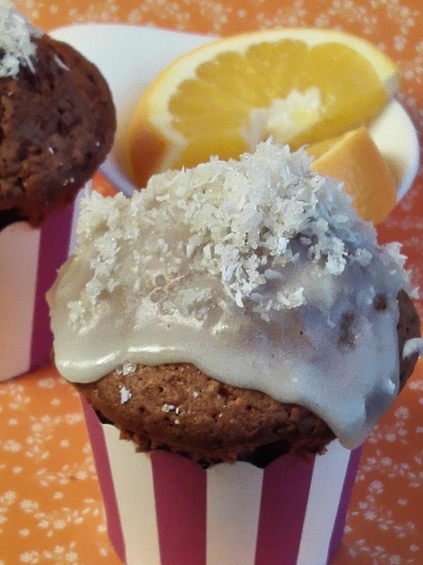 Orangen-Kokosnuss-Muffins