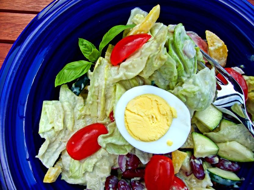Super leckerer Sommersalat – super schnell und einfach