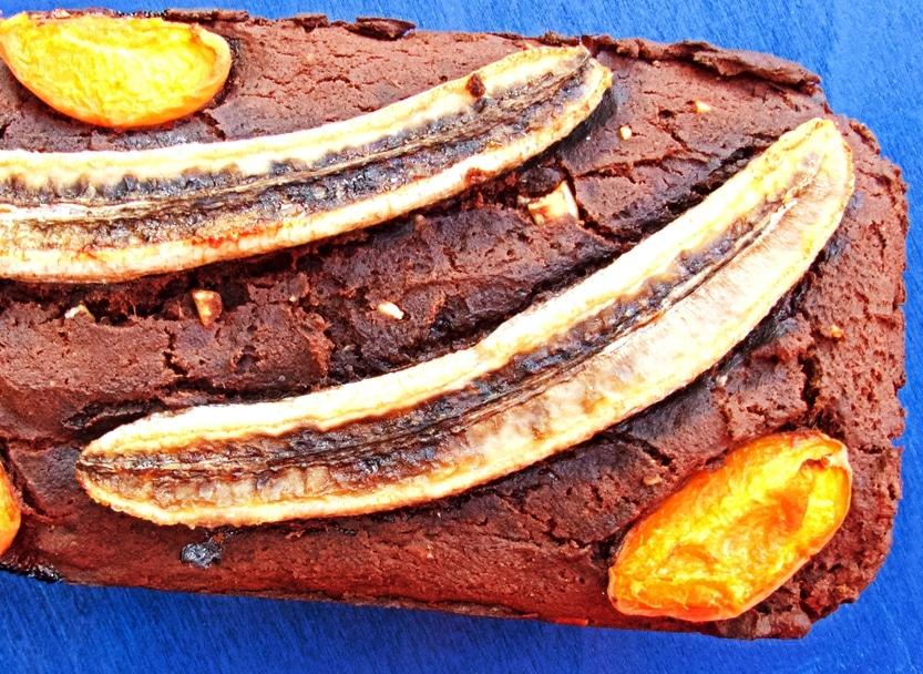 Wahnsinnig saftiges, glutenfreies Schokoladenbananenbrot