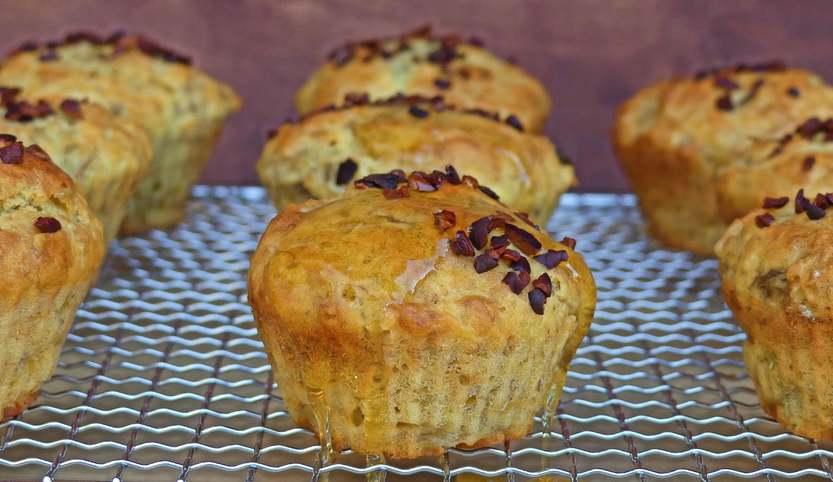 Zitronen Muffins mit einem Hauch Rosmarin