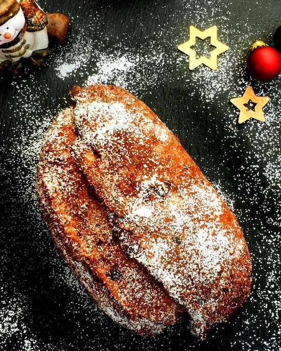 Lass Dir den  Stollen schmecken und Frohe Weihnachten!